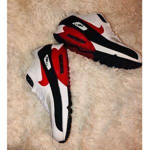 Nike Air Max 90 Black University Red